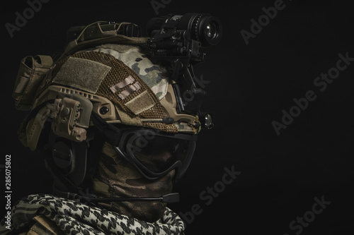 Fotografía special forces soldier , military concept