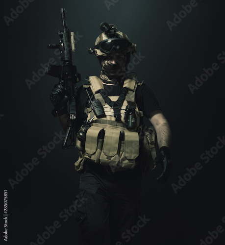 Fotomural  special forces soldier , military concept
