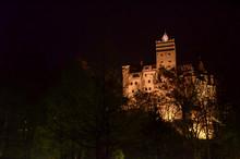 Legendary Bran Castle, Dracula Residence In Transylvania, Romania.