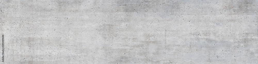 Fototapeta Beschaffenheit einer alten grauen Betonmauer als abstrakter Hintergrund