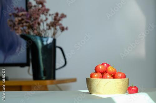 Photo acerola cherry