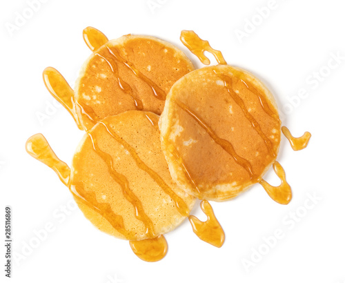 Photo  Pancakes with syrup