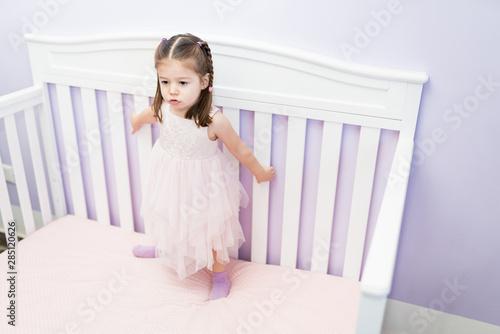 Cuadros en Lienzo Adorable Princess Having Fun At Home