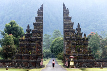 Traditional Balinese Gate In B...