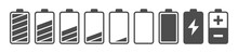 Battery Capacity Charge Icon S...