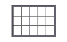 3d Illustration Of  Window Fra...
