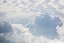 A Range Of Grey Cumulous Clouds