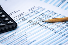 Balance Accounting Sheet In Stockholder Report Book, Balance Sheet