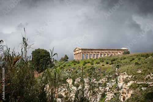 Fotografie, Tablou  Temple de Segesta, Sicile