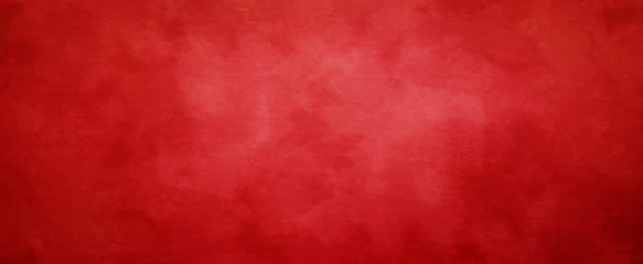 Red Christmas background with vintage texture, abstract solid elegant  textur...