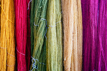 Wool Of Different Colors, Mexico