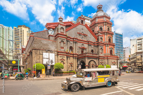 Minor Basilica of Saint Lorenzo Ruiz in manila Canvas