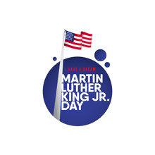 Martin Luther King JR. Day Vec...