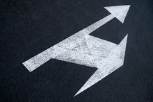 Split Arrows Directions Icon P...