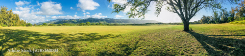 Photo Stands Landscapes Panorama landscape on the north shore of Oahu Hawaii
