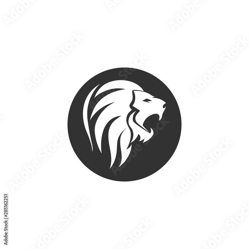 Fototapety, obrazy: Lion logo vector template Vectors