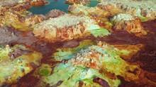 Ascending Drone Shot Of Volcan...