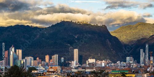 Bogota view Canvas Print
