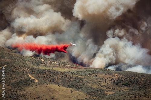 Wildfire in foothills near Boise Idaho #285169864