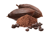 Roasted Cocoa Beans, Powder An...