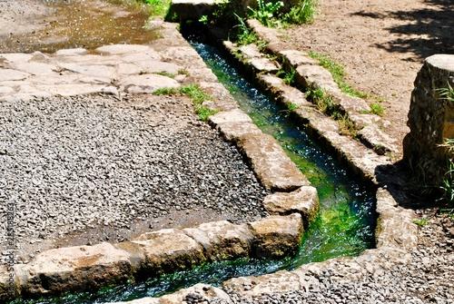 Canvas-taulu Warter conduit Banias Spring