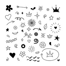 Doodle Abstract Arrows, Swishe...