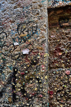 People Leave Letters To Juliet But Also Gums. Juliet's House Verona Italy