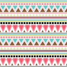 Seamless Abstract Pattern, Wit...