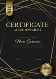 Modern certificate template layout - 285217893