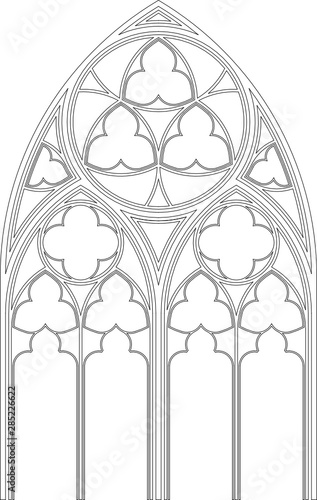 Tablou Canvas Gothic Tracery, Stephansdom, Vienna, 34.16