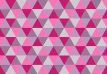 Vivid Triangular Seamless Patt...