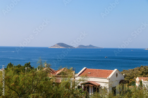 Foto op Aluminium Arctica view of an island in mediterranean sea