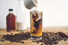 Cold Brew Coffee In The Glass ...