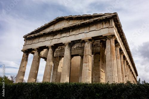 Famous Hefaisteion monument in Greek Agora, Athens Wallpaper Mural