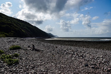 Seascape At Porlock Weir