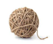 Ball Of Natural Jute Twine