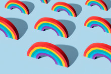Mosaic Of Three-dimensional Rainbows