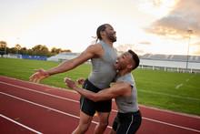 Runners Celebration