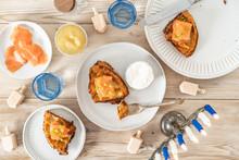 Latke Waffles For Hanukkah