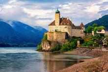 Schonbuhel Castle On Danube River, Wachau Region, Austria