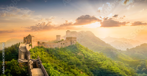The Great Wall of China. - 285357065