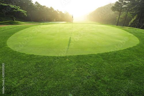 Photo 골프장.골프. 스포츠. 아침.풍경.새벽.안개. 신도시. 분양. 분양권.