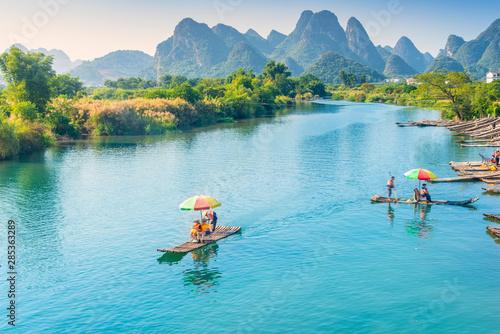 Landscape of Guilin Fototapet
