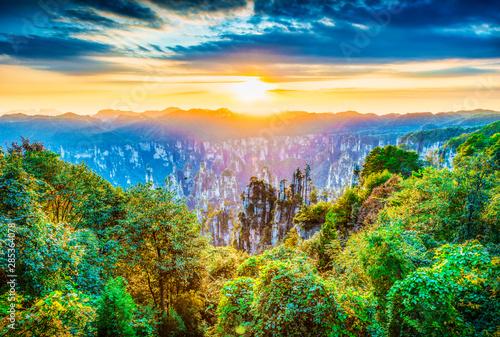 Landscape of Zhangjiajie Canvas-taulu