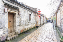 Ancient Alley In Laomendong (O...