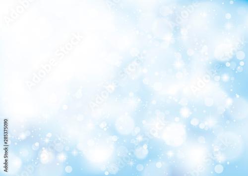 Obraz na plátně アブストラクト 光の背景水色