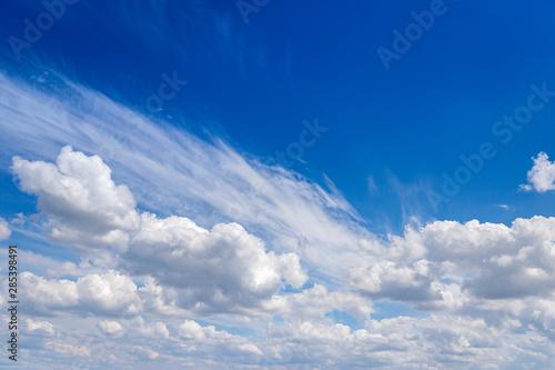 Błękitne niebo - fototapety na wymiar