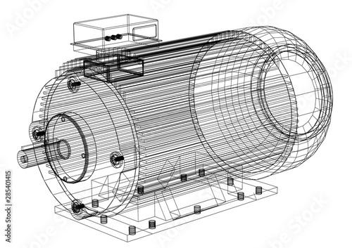 Photo electric motor