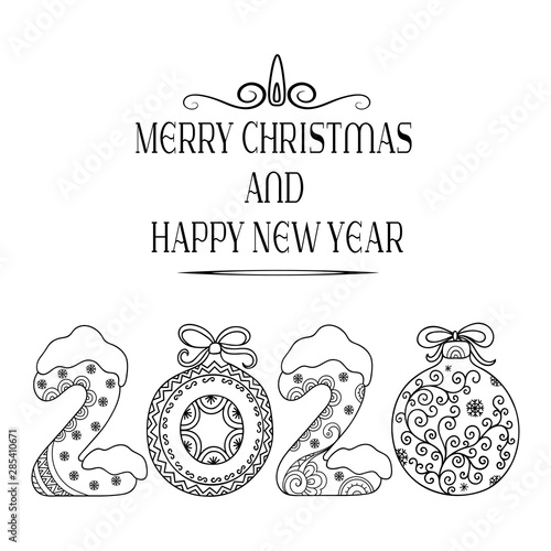 Happy New Year Doodle 48
