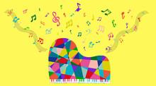 Colorful Grand Piano カラフ...